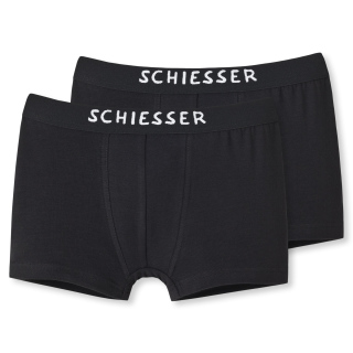 Schiesser Kinder Shorts, Gr. 128-176, (2er Pack)